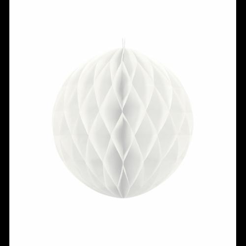 Wabenball - Ø 30cm - Weiß