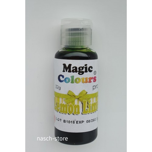 Magic Colours Pro Gel - Lemon Lime 32g