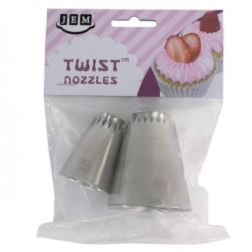 JEM Twist Nozzle Sultan Style 1 Set/2