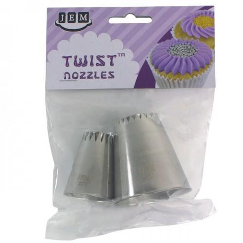 JEM Twist Nozzle Sultan Style 2 Set/2