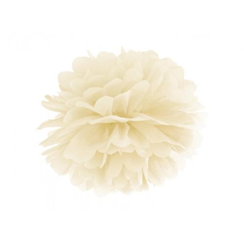 Pompom - Ø 35cm - Creme