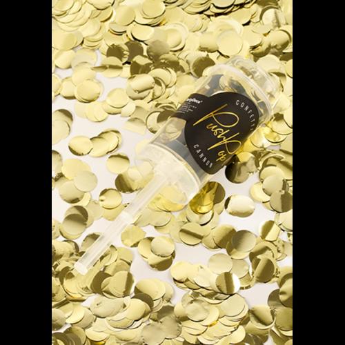 Konfetti Push Pop - Gold
