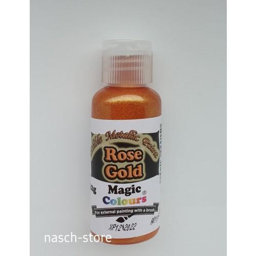 Magic Colours Metallic Paints - Rose Gold 32g